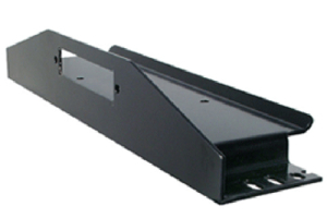 LOD Bolt-On Winch Plate Black Powder Coated (Part Number: )