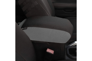 Bartact Padded Center Console Cover - Black/Graphite - JT