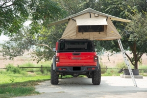 ZROADZ Overland Access Rack  W/ Three Lifting Side Gates, For Use on Factory Rail - JT
