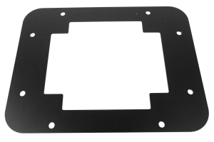 EVO Manufacturing Gate Plate Black (Part Number: )