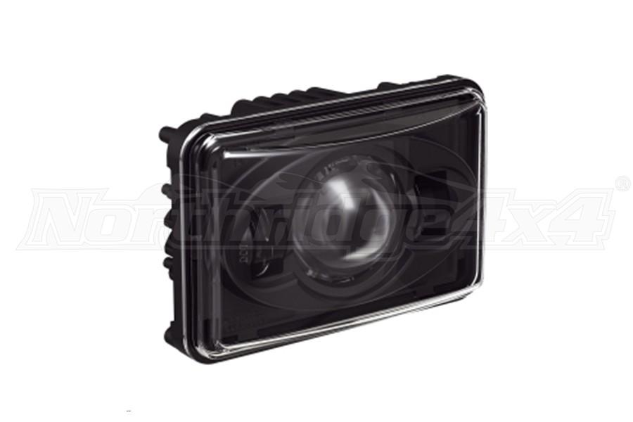 JW Speaker 8800 Model 4x6in High Beam LED Headlight Black (Part Number:0551951)