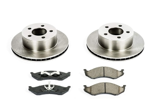 Power Stop Autospecialty OE Replacement Brake Kit, Front  (Part Number: )