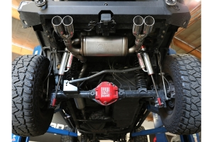 aFe Power Vulcan Series 2.5in Cat-Back Exhaust System - Polished - JK 4Dr 3.6L/3.8L