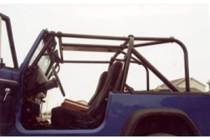 Rock Hard 4x4 Ultimate Sports Cage Rear Side Bar & Angle Bar Kit (Part Number: )