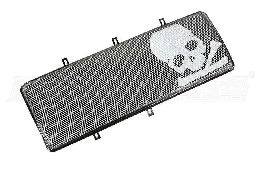 Rugged Ridge Spartan Grille Insert, Skull (Part Number:12034.23)