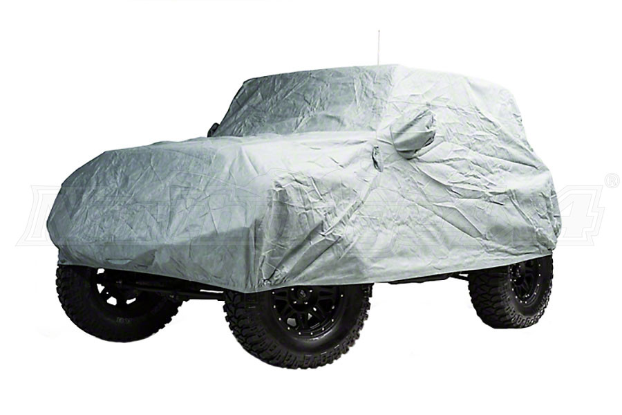 Smittybilt Full Climate Car Cover Gray (Part Number:830)