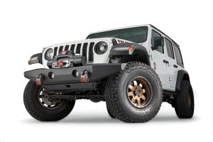 Warn Crawler Full-Width Front Bumper w/out Tube - JT/JL/JK