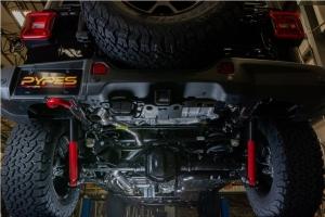 Pypes HGC Cat-Back Exhaust System - JL 4Dr 2.0L