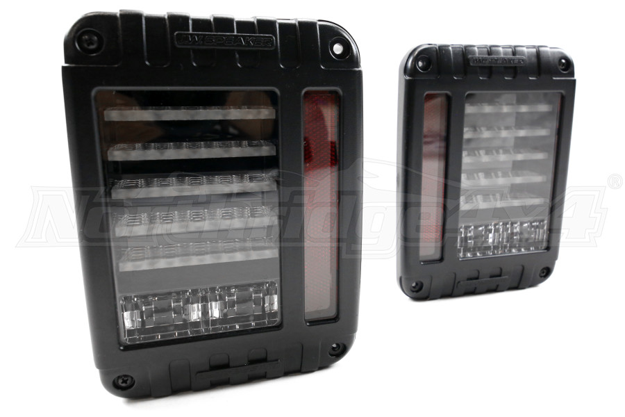Jw Speaker Lights : Jeep jk jw speaker j series led tail light kit