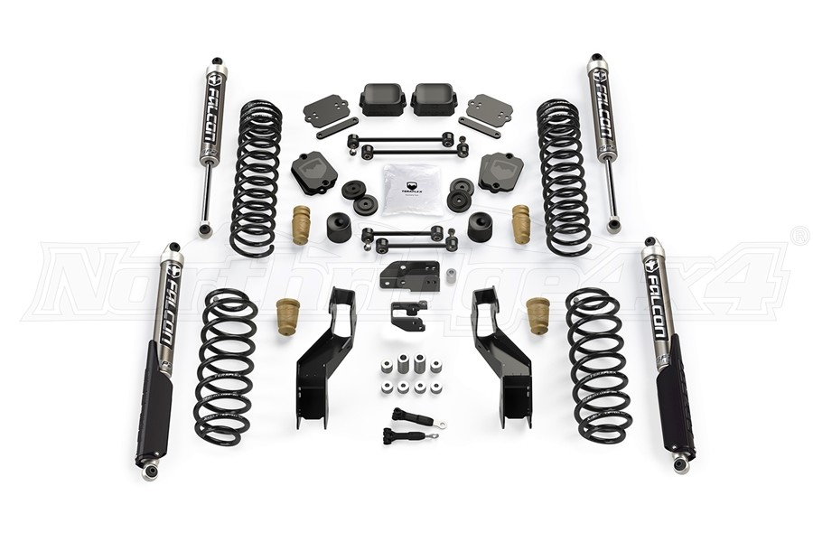 Teraflex 3.5in Sport ST3 Suspension System w/ Falcon SP2 2.1 Shocks - JL 4Dr