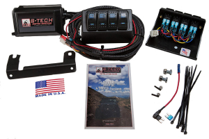 S-TECH Dual LED 4-Switch System Custom Molded Housing, Blue LED ( Part Number: TTO-STECH-2BE)