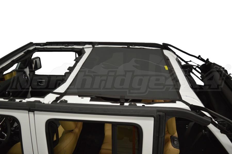 Dirty Dog 4x4 Sun Screen Rear - Black (Part Number:JL4S18R1BK)