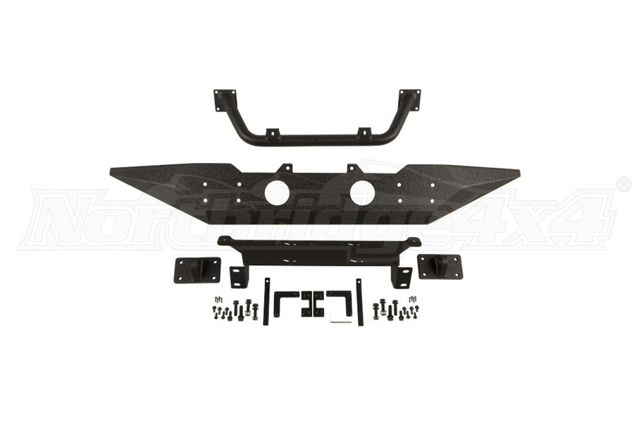 Rugged Ridge Spartan Front Bumper w/ Standard Ends and Overrider  - JK
