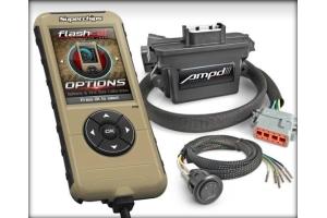 Superchips Flashcal + Amp'd Throttle Sensitivity Booster Kit - JK