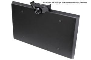 RockJock Spare Tire Mount and Delete Cover - JL