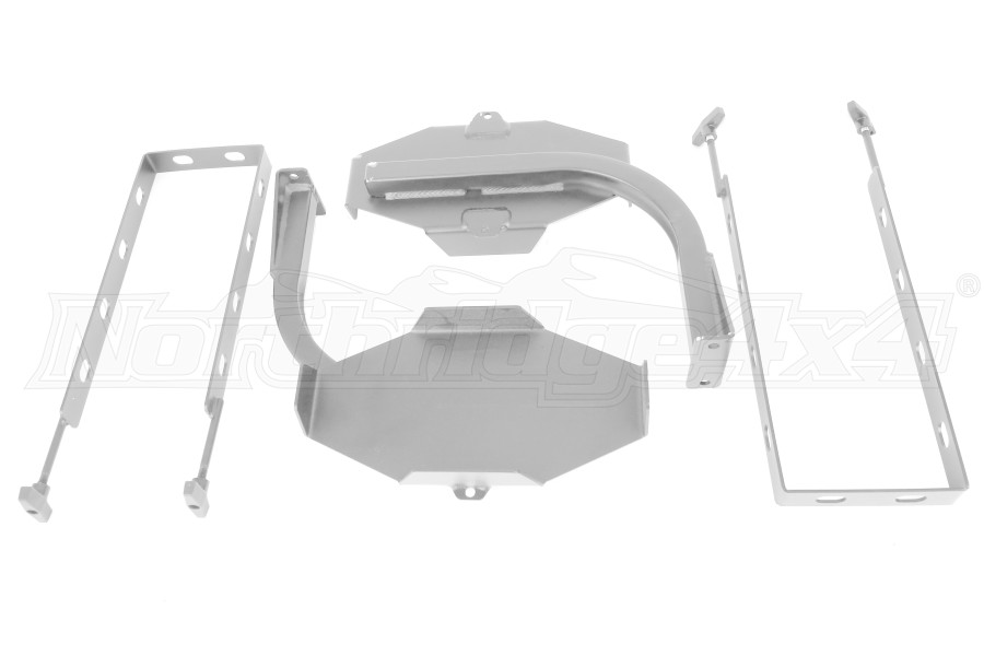 LOD Generation 3 Blitz Style Jerry Can Mounts Pair Bare Steel (Part Number:JJC0762)