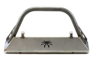 Poison Spyder BFH Front Bumper w/Brawler Bar and Shackle Tabs Bare - LJ/TJ