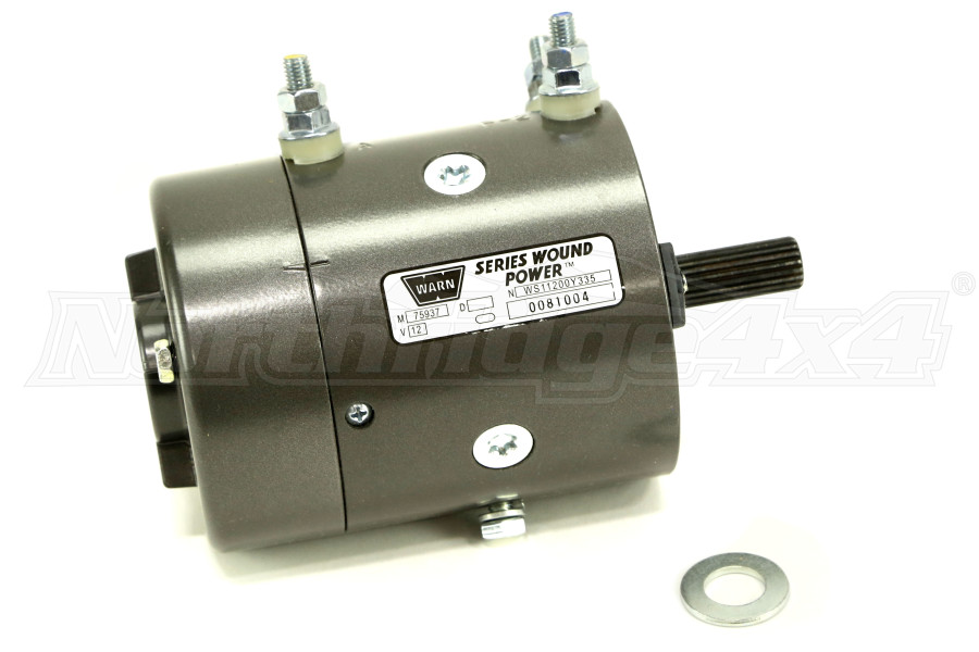 Warn 12v Replacement Winch Motor (Part Number:77893)