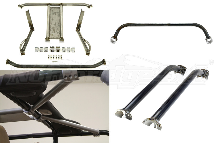Rock Hard 4x4 Ultimate Sports Cage Package - TJ/LJ 2003-06
