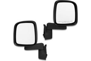 Bestop HighRock 4x4 Replacement Mirror Set - Black - JT/JL/JK/TJ/YJ