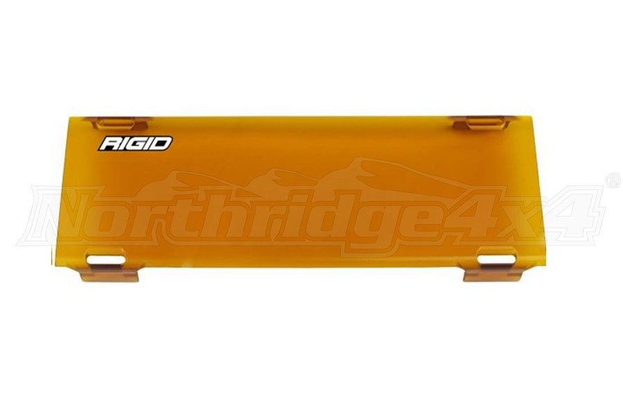 Rigid Industries 10in E-Series Light Cover Amber (Part Number:110933)