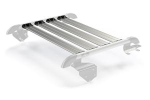 Teraflex Nebo Roof Rack 4-Piece Cargo Slat Kit Silver - JK 2dr