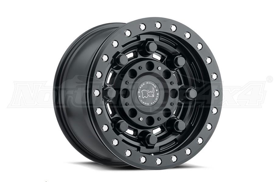 Black Rhino Garrison Beadlock Wheel 17x8.5 5x5 Matte Black (Part Number:1785GAR-25127M71)