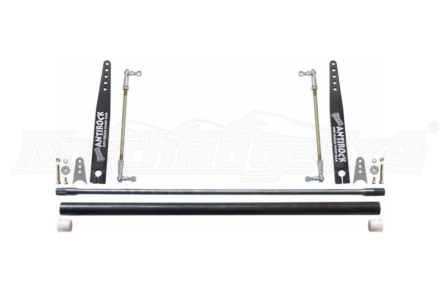 RockJock Universal AntiRock Sway Bar Kit w/17in Steel Arms