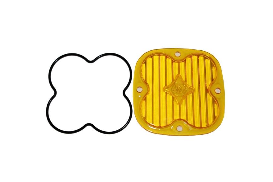 Baja Designs Squadron (Pro & Sport) Wide Cornering Lens Kit, Amber (Part Number:668415)