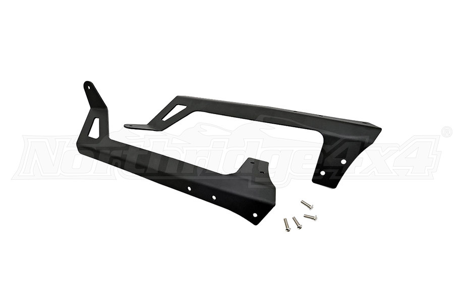 Rough Country 50in Light Bar Windshield Mounting Brackets (Part Number:70504)