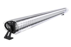 AeroLidz 50in/52in Dual Row Light Bar Cover - Clear