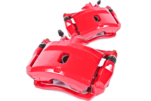 Power Stop Front Brake Caliper Set, Red  - JK