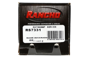 Rancho Performance RS7000MT Series Shock Front 4in Lift - JK