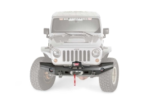 Warn Elite Series Full Width Front Bumper Black (Part Number: )