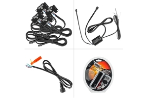 Oracle ColorSHIFT RGB+W Headlight DRL Upgrade - Wireless Controller - JL