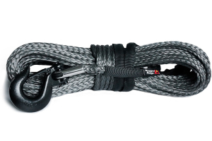 Rugged Ridge Synthetic Winch Line, Dark Gray, 7/16