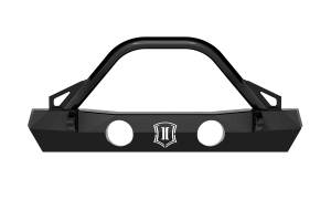 Icon Vehicle Dynamics Pro Series Front Bumper w/ Bar and Tabs - JT/JL