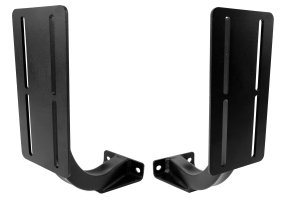 LOD Horizontal Rotopax 2/3 Gallon Container Mount Pair Black (Part Number: )