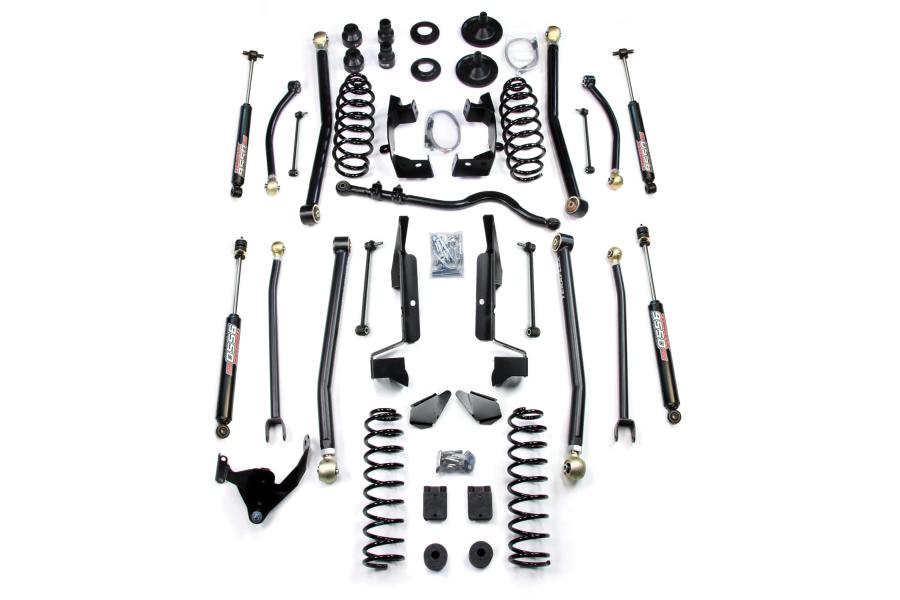 Teraflex Elite LCG 4in Elite LCG Long FlexArm Lift Kit w/ 9550 Shocks (Part Number:1257400)