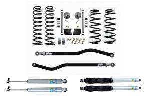 Evo Manufacturing 2.5in Enforcer Stage 1 PLUS Lift Kit w/ Bilstein Shocks - JL