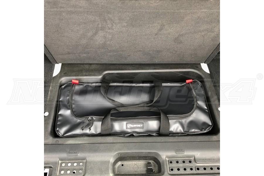 Bartact Rear Compartment Storage Tool Bag - Black - JL 4dr