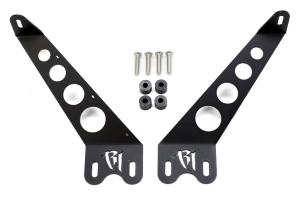 Rigid Industries E/SR Series Light Hood Mount Kit Black 10in ( Part Number: 40332)