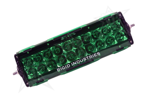 Rigid Industries E-Series Light Cover Green 10in (Part Number: )