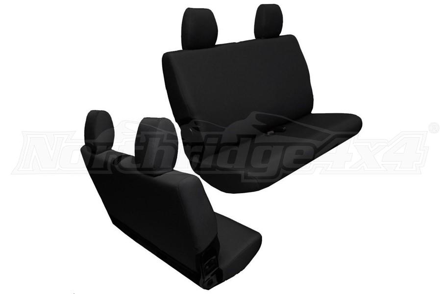 BARTACT Baseline Seat Cover Rear Bench Black - JK 2dr 2011-12