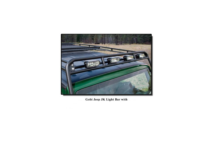GOBI Stealth Rack Light Bar Brackets (Part Number:GJJKSTLB)