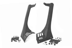Rouch Country Light Bar Upper Windshield Mount Kit - JT except Mojave Models /JL except Moab Models