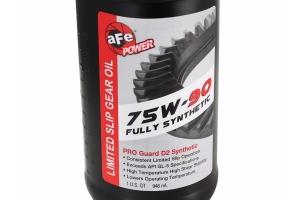 AFE Power Differential Cover for Dana 44 - Black w/Gear Oil - JK/LJ/TJ
