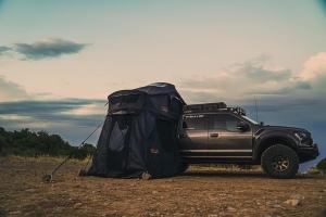 Roam Vagabond Rooftop Tent w/Annex - Black