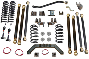 Clayton 4.0in Pro Series Long Arm Lift Kit   (Part Number: )