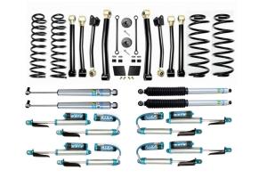 EVO Manufacturing 2.5in Enforcer Stage 4 Lift Kit w/ Shock Options - JL Diesel